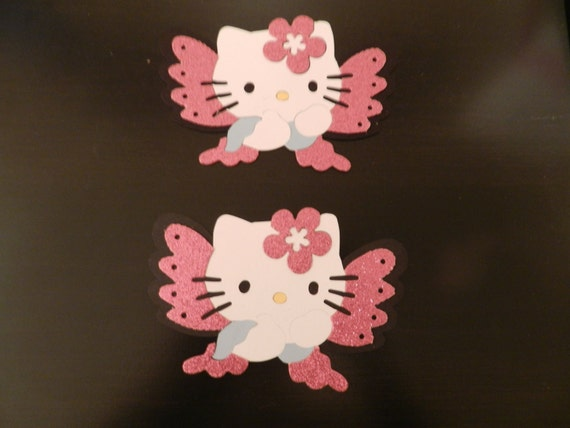 Hello Kitty Butterfly Die cuts