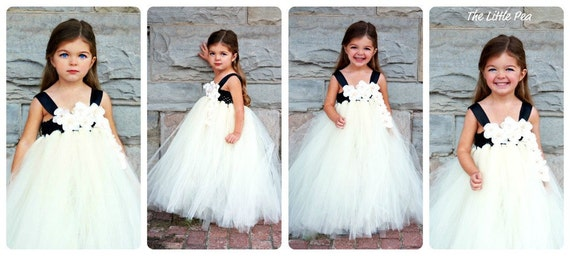 Flower Girl Tutu Dress in Sweet Memories