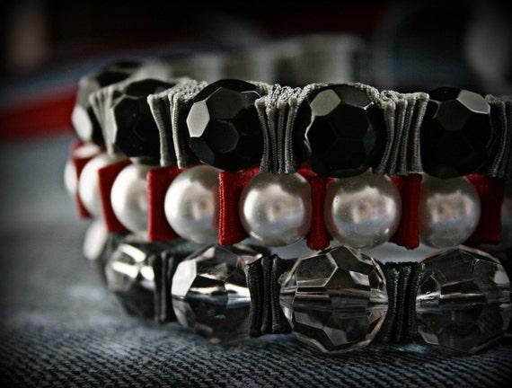 Ribbon Bracelet -Drama Queen Ribbon Bracelet Trio