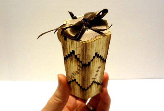 Свадебный Фавор коробки с индивидуальным Теги Vintage Style Сельский Свадебный Matchstick пользу Box, доступна с ленты разных цветов
