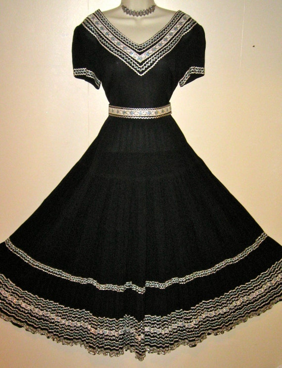 CUSTOM Southwest Dress, like the one Gramma Gracie and Aunt Agnes made back in the 50s