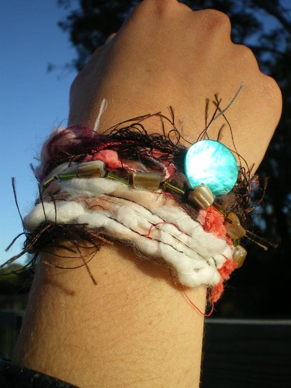fancy summer shell  cuff