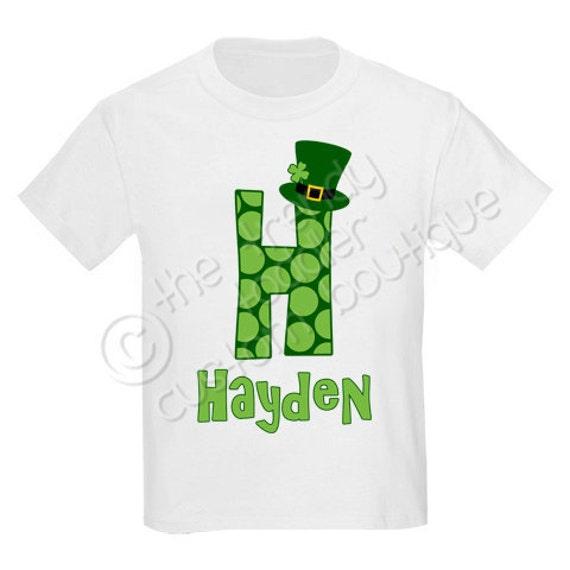 f5c0116f8 St. Patricks Leprechaun Monogram Shirt Personalized Any Way You Like