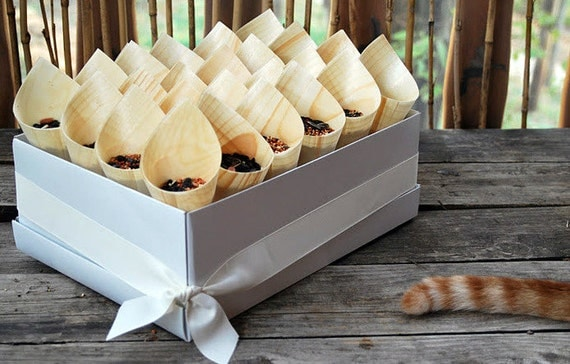 48 Elegant, affordable toss cones for your special occasion