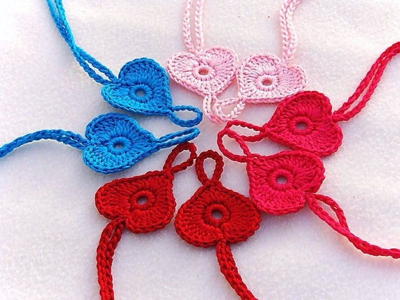 4 pairs Baby Heart Barefoot sandals, Baby shoes, Light Pink, Hot Pink, Red, Turquoise Barefoot Sandals, Valentine's day