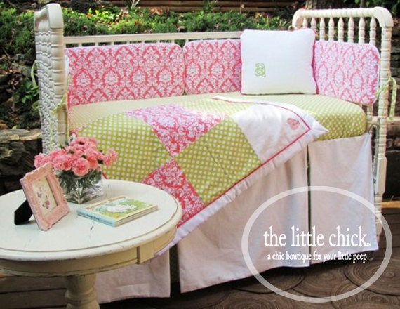 Custom Tailored Crib Skirt - Design Your Own