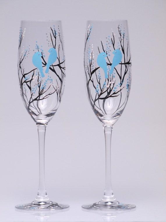 Tags wedding flutes wedding glasses hand painted glasses toasting flutes