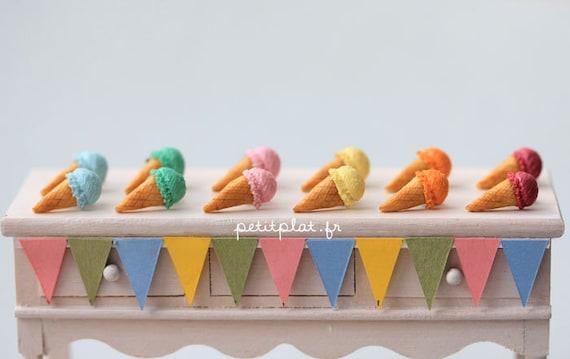 petit plat icecream earrings