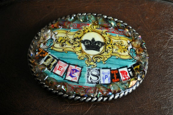 "Belt Buckle - ""Free Spirit"""
