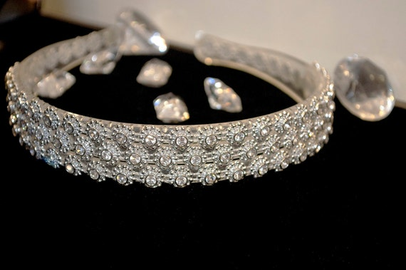 Crystal Covered Bridal Headband