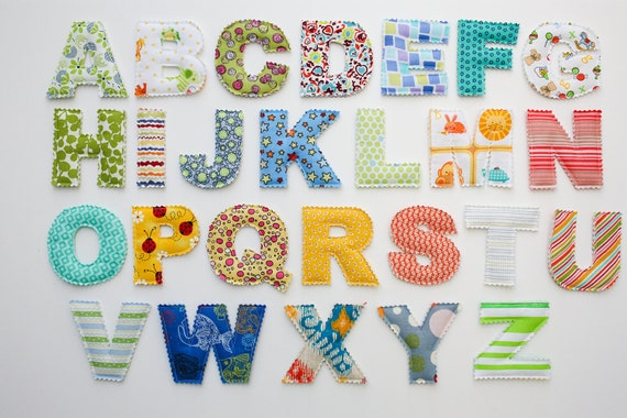 Toy Alphabet Letters - Magnetic