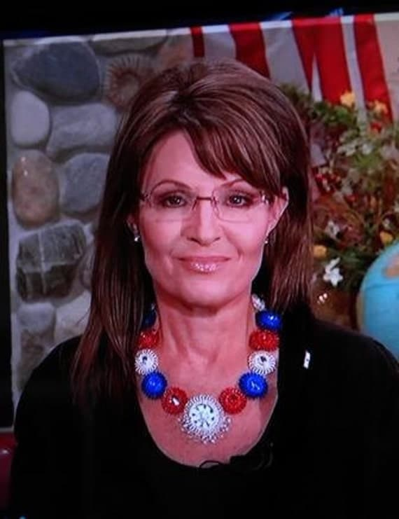 Sarah Palin Necklace