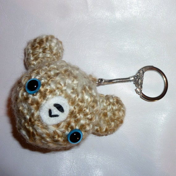 Amigurumi Small Bear Key Chair Free Pattern – FREE AMİGURUMİ CROCHET | 571x570