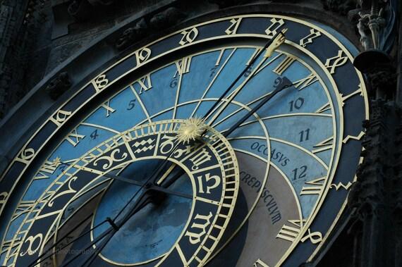Астрономические часы - Прага - 8x12 штраф фотографию искусством