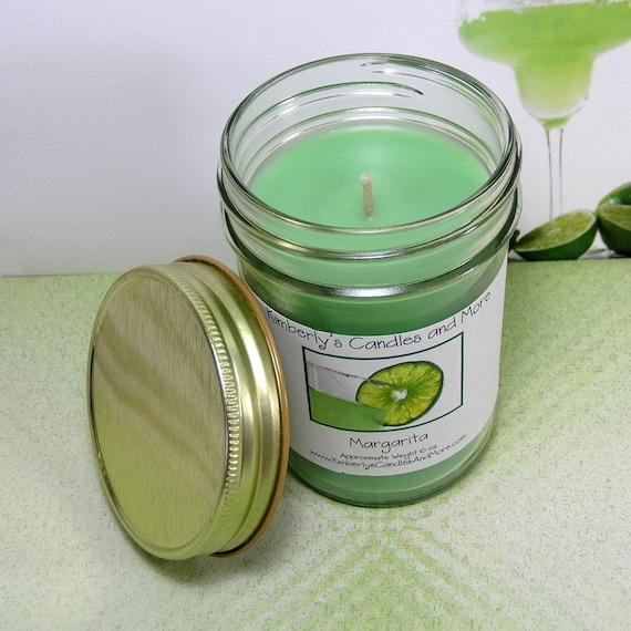 Margarita PURE SOY Jelly Jar Candle