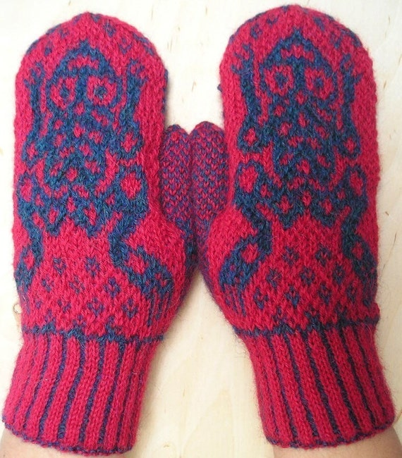 PATTERNS FOR KNIT MITTENS