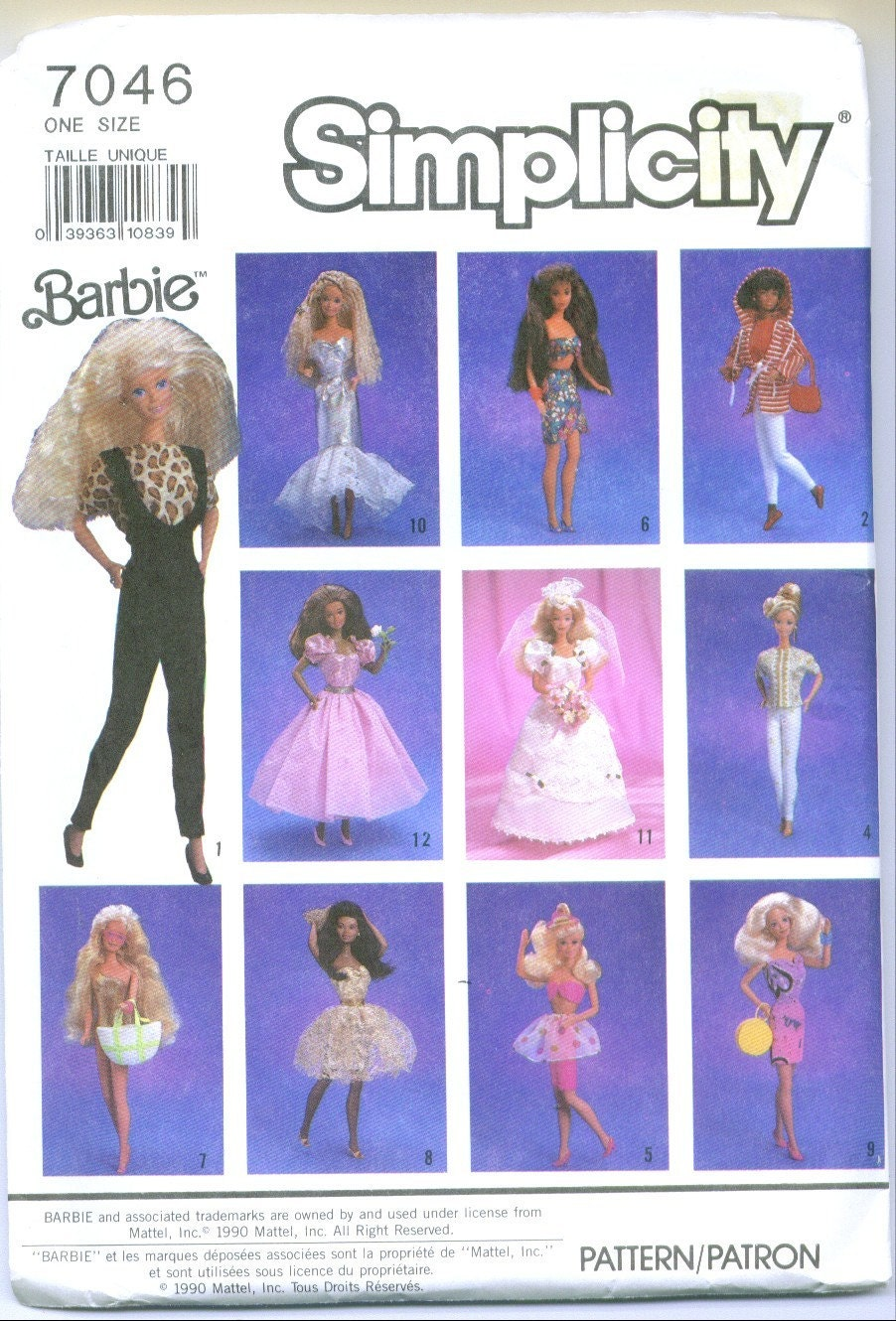 Craft Attic Resources: Barbie Crochet and Sewing Free Patterns