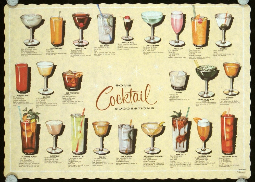 popular alcoholic drinks