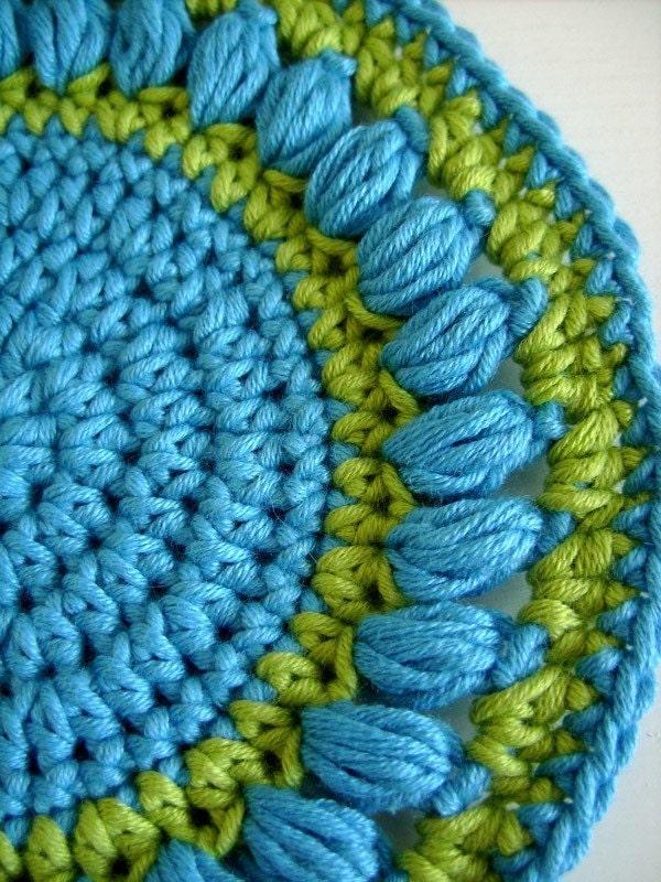 Crochet Round Potholder Crochet For Beginners