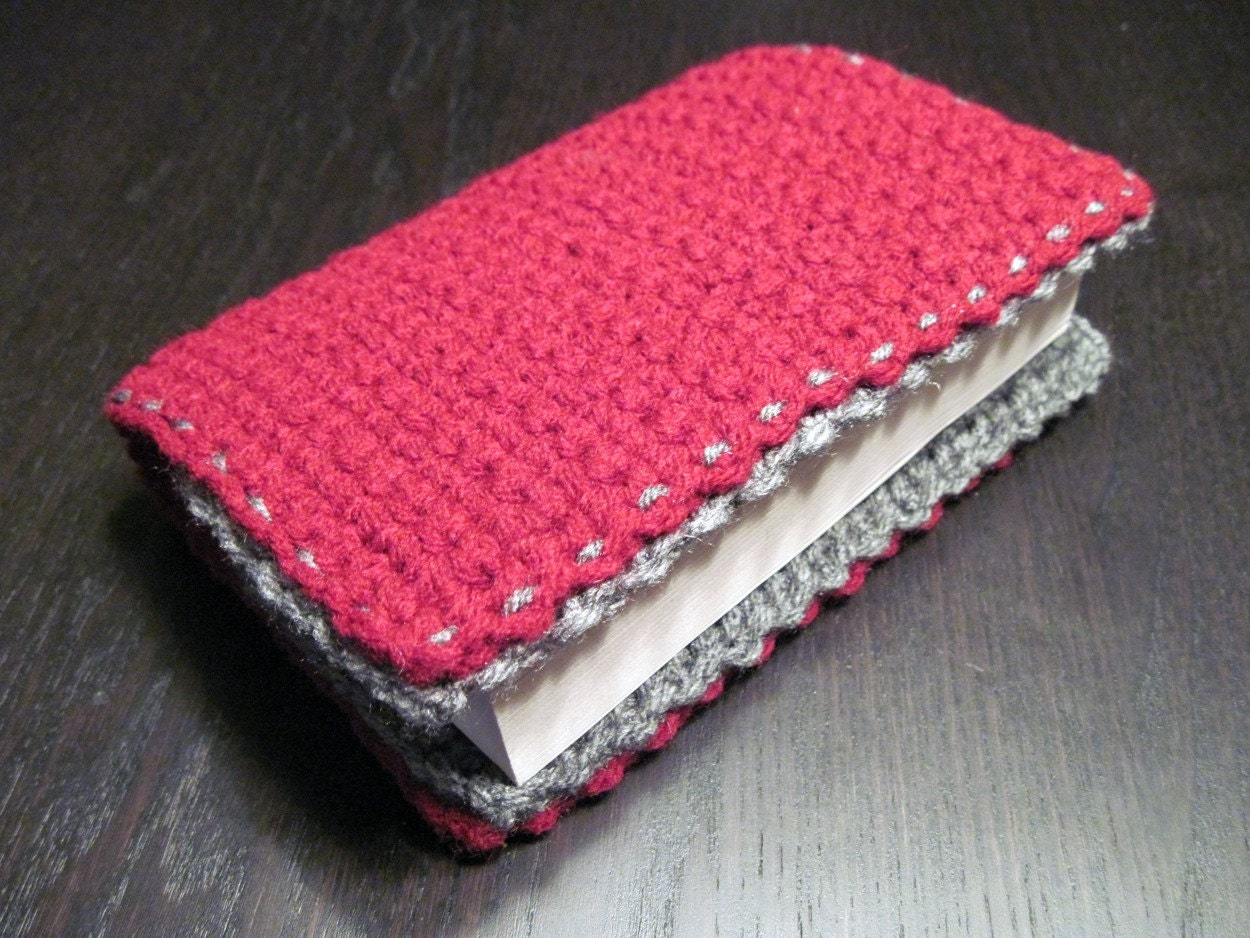 Crochet Book Cover Tutorial : Crochet book covers for beginners