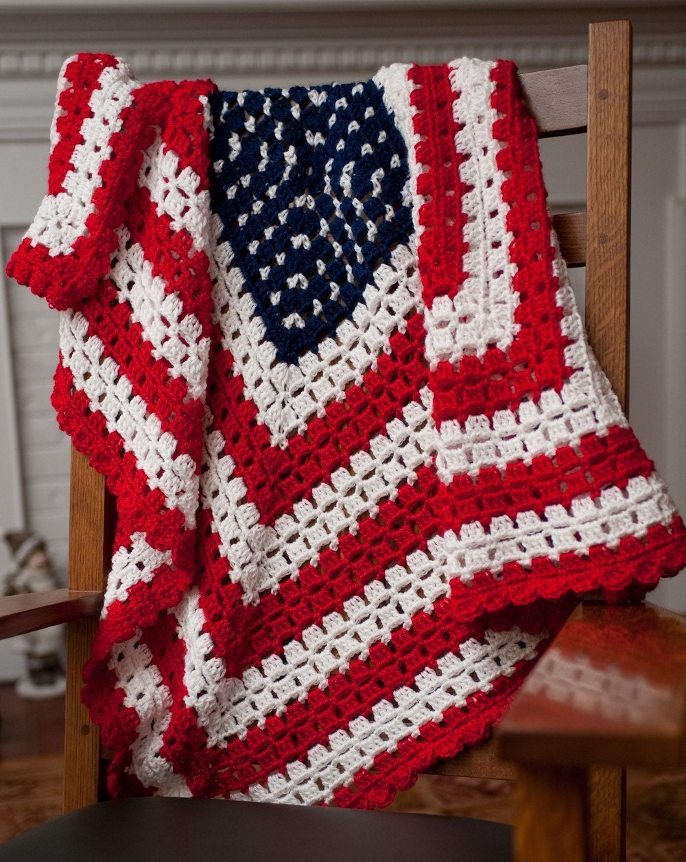 Crochet Flag Pattern Crochet Patterns