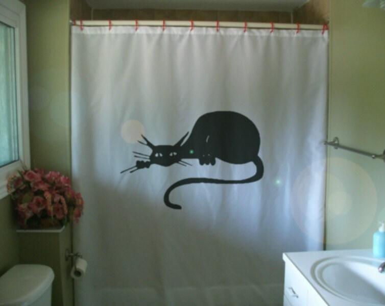Art deco shower curtain