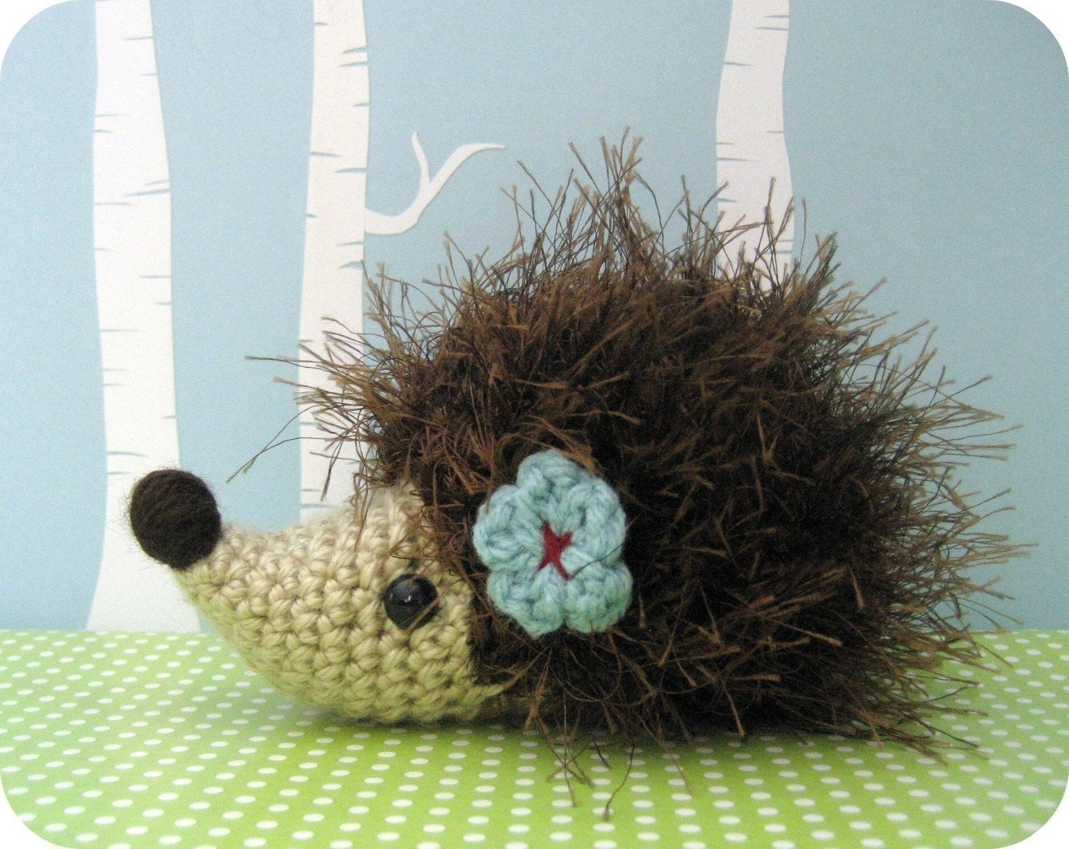 Baby Hedgehog His Mommy Crochet Pattern 2   Flickr – Photo Sharing!