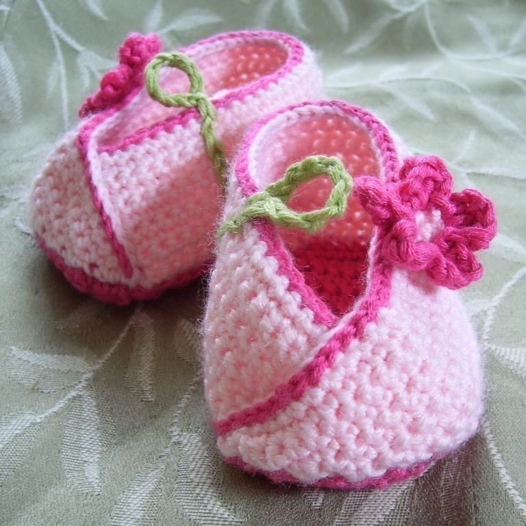 Crochet Baby Shoe Patterns Free Patterns