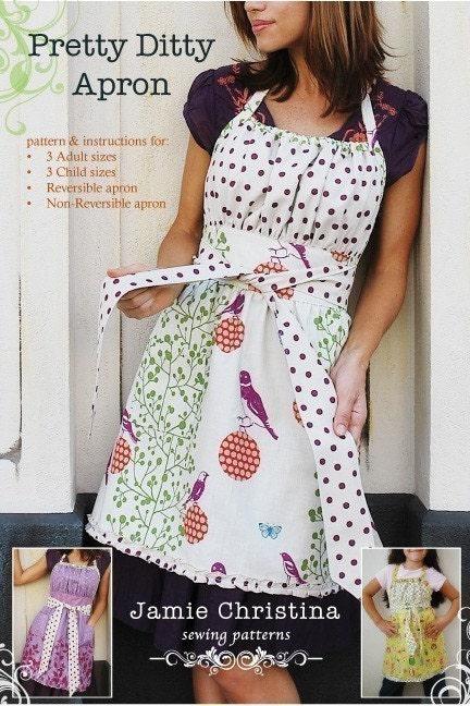 Pretty Ditty apron