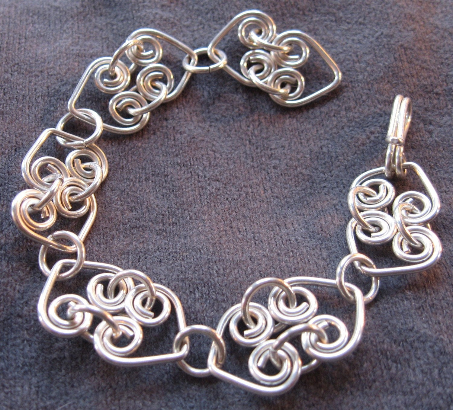 Wire Bracelets With Charms: 1000+ Images About Wire Wrapped Bracelets On Pinterest