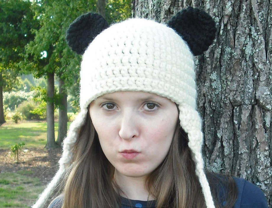 How to Crochet a Hat With Ear Flaps | eHow.com