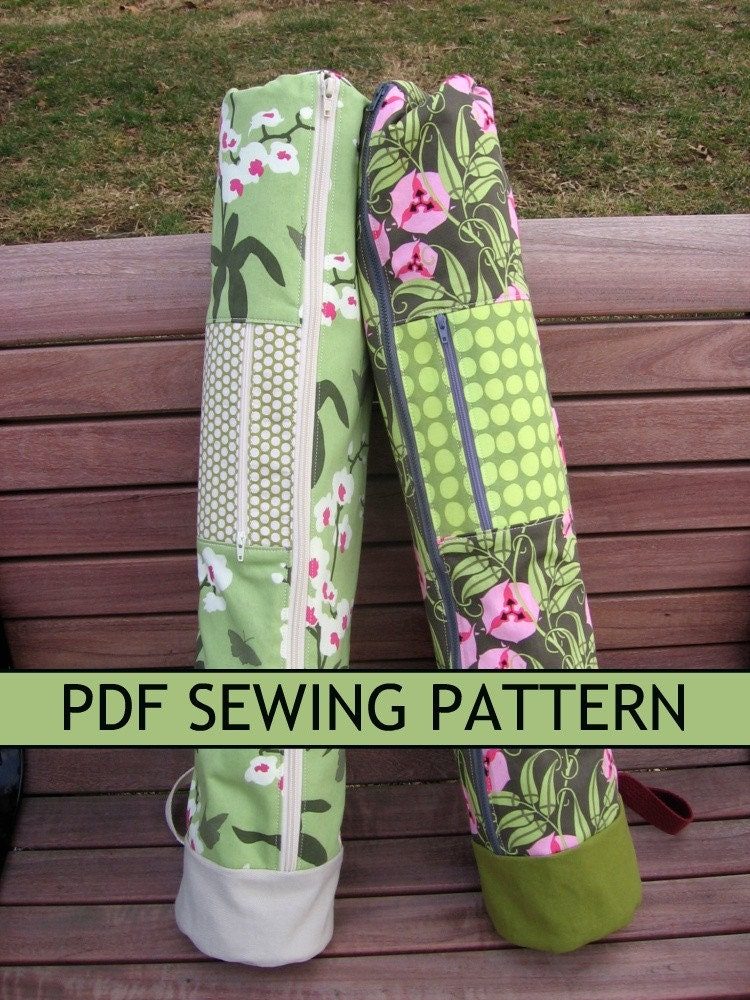 YOGA MAT BAG PATTERNS   Free Patterns