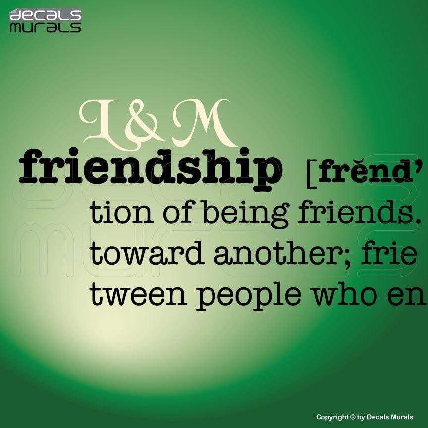 A description of how a photograph saved a friendship