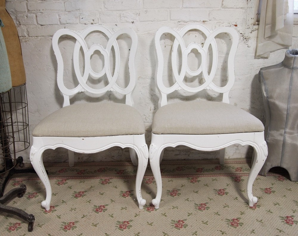 Dining Chair Covers Slipcovers Shabby Chic
