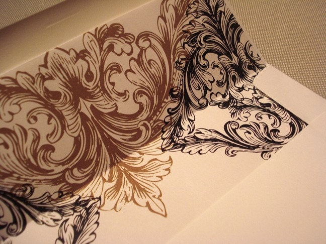 Alencon Lace Wedding Collection Envelope Liners From lisasamartinodesign