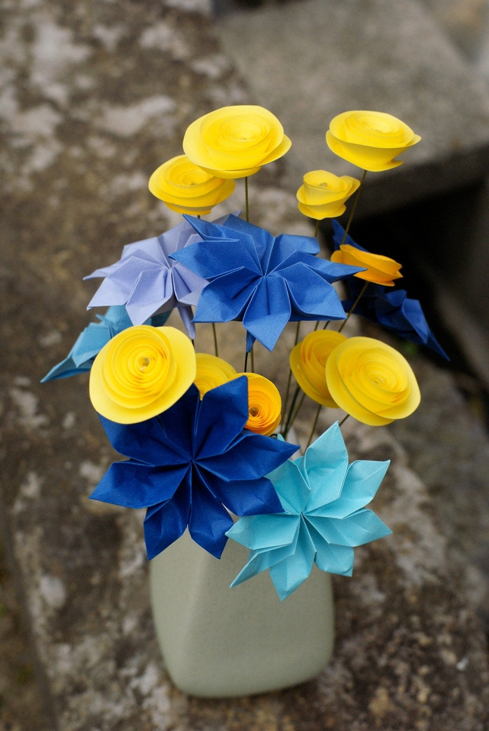 Everything Origami Origami Starry Night Flowers