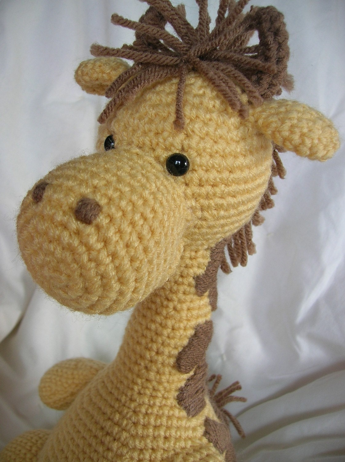 1500 Free Amigurumi Patterns: Giraffe - Free animal crochet pattern