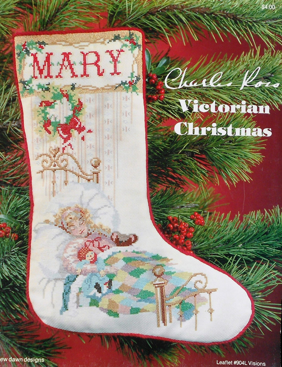 charles ross christmas cross stitch