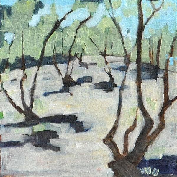 Olive Grove in Balboa Park, San Diego, California