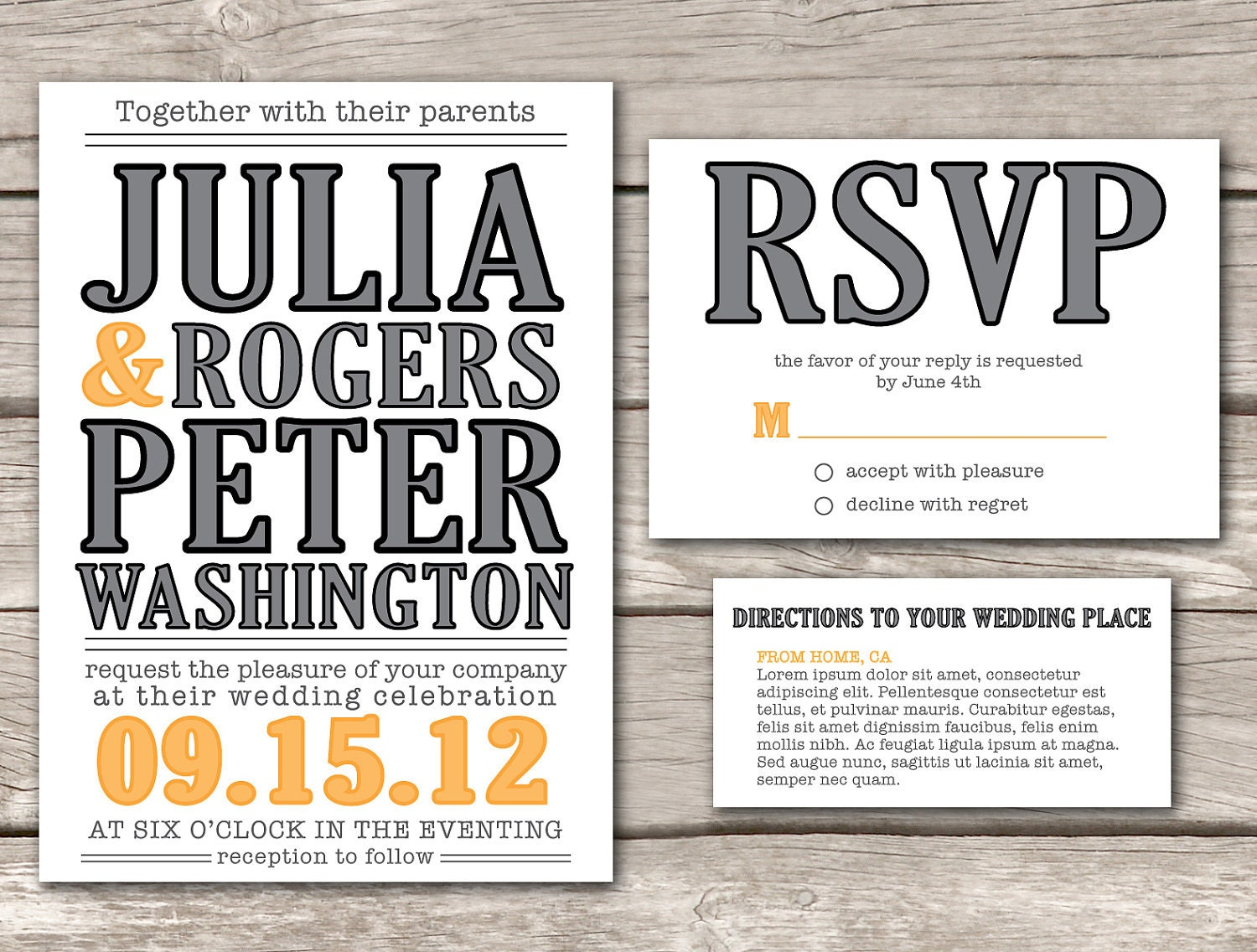 modern wedding invitations wording