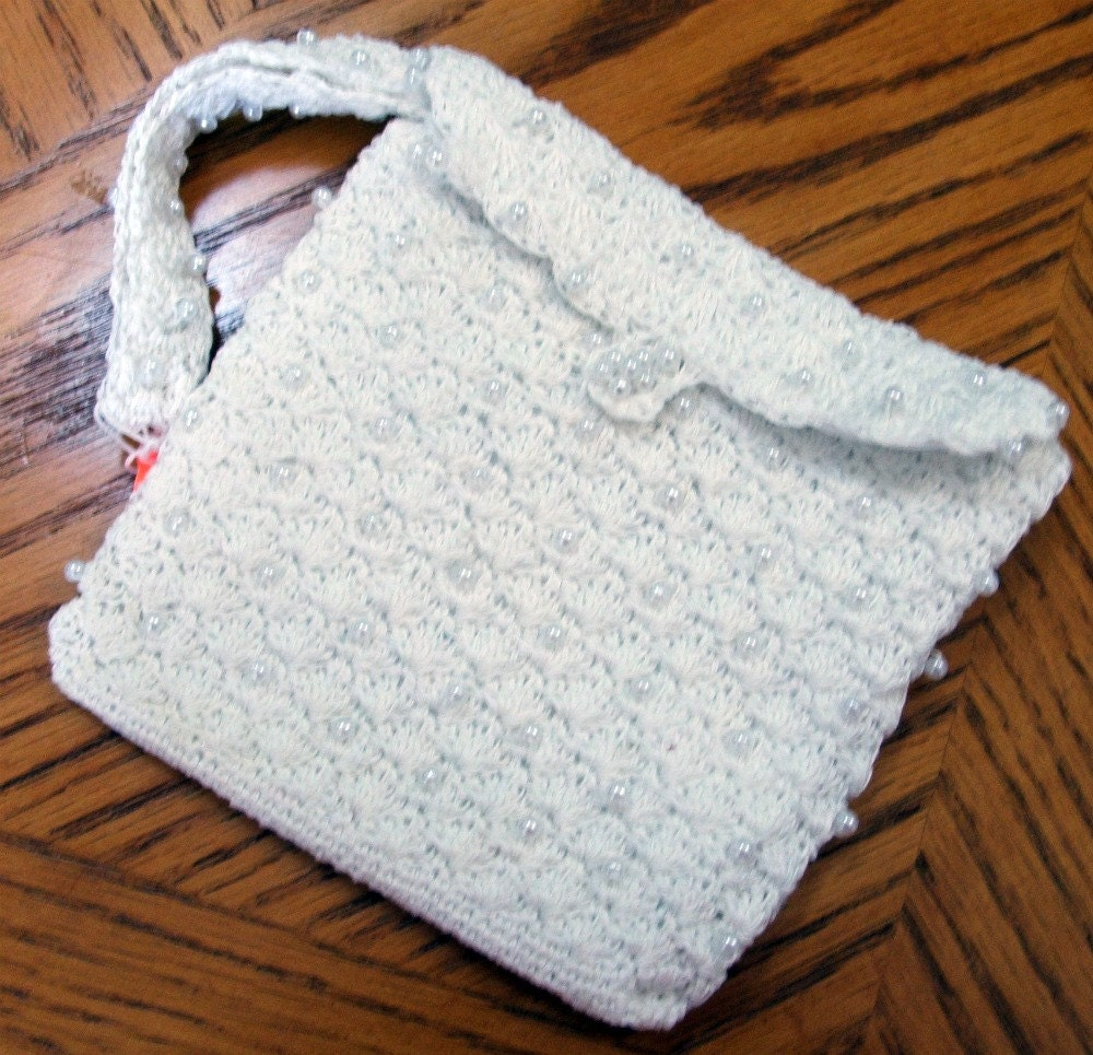 Crochet Beaded Purse Pattern : BEAD CROCHET PURSE Crochet For Beginners