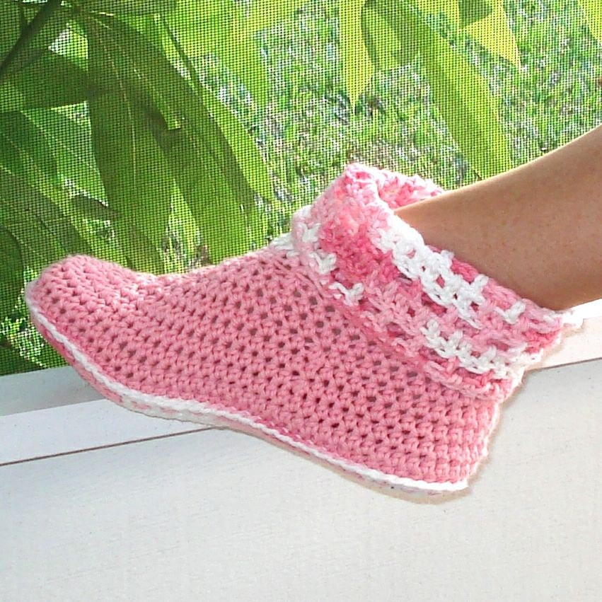 Free Crochet Patterns Booties For Adults : CROCHET SLIPPERS KIDS How To Crochet