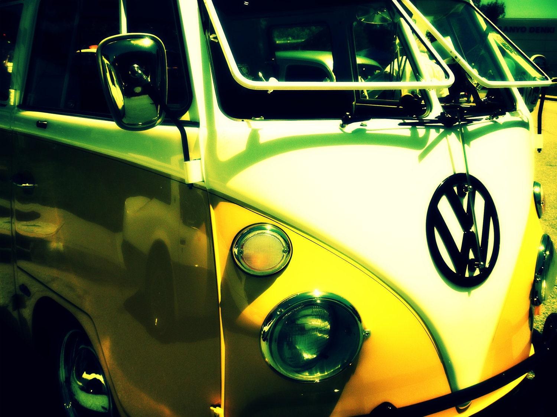 Volkswagen Bus Photography