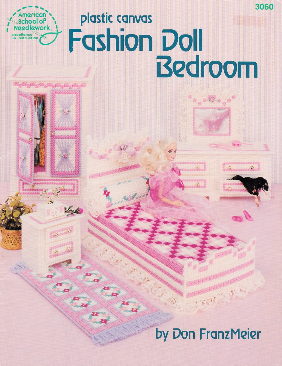 Plastic Canvas Barbie Furniture Patterns | Doll Bunk Bed