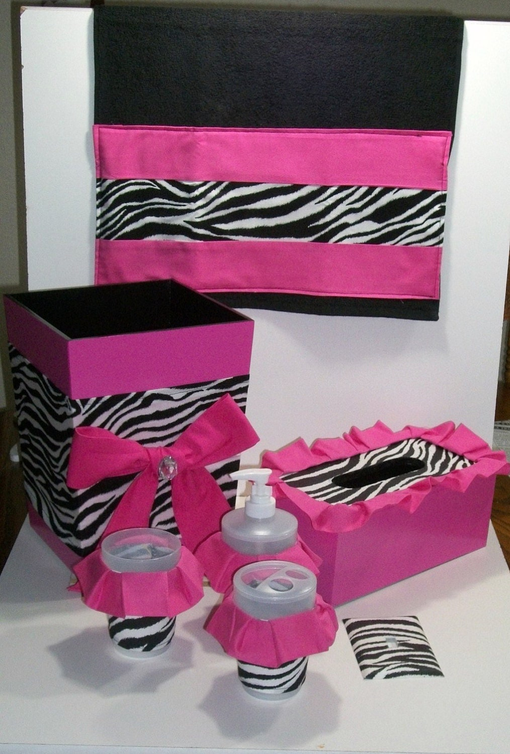 Zebra Bathroom Ideas : PINK BATHROOM SET » Bathroom Design Ideas