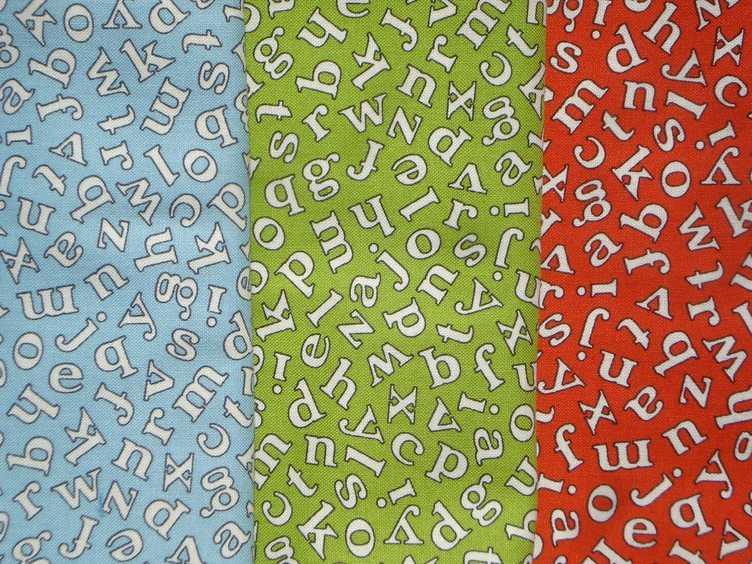 3 fq set american jane moda wee play letters