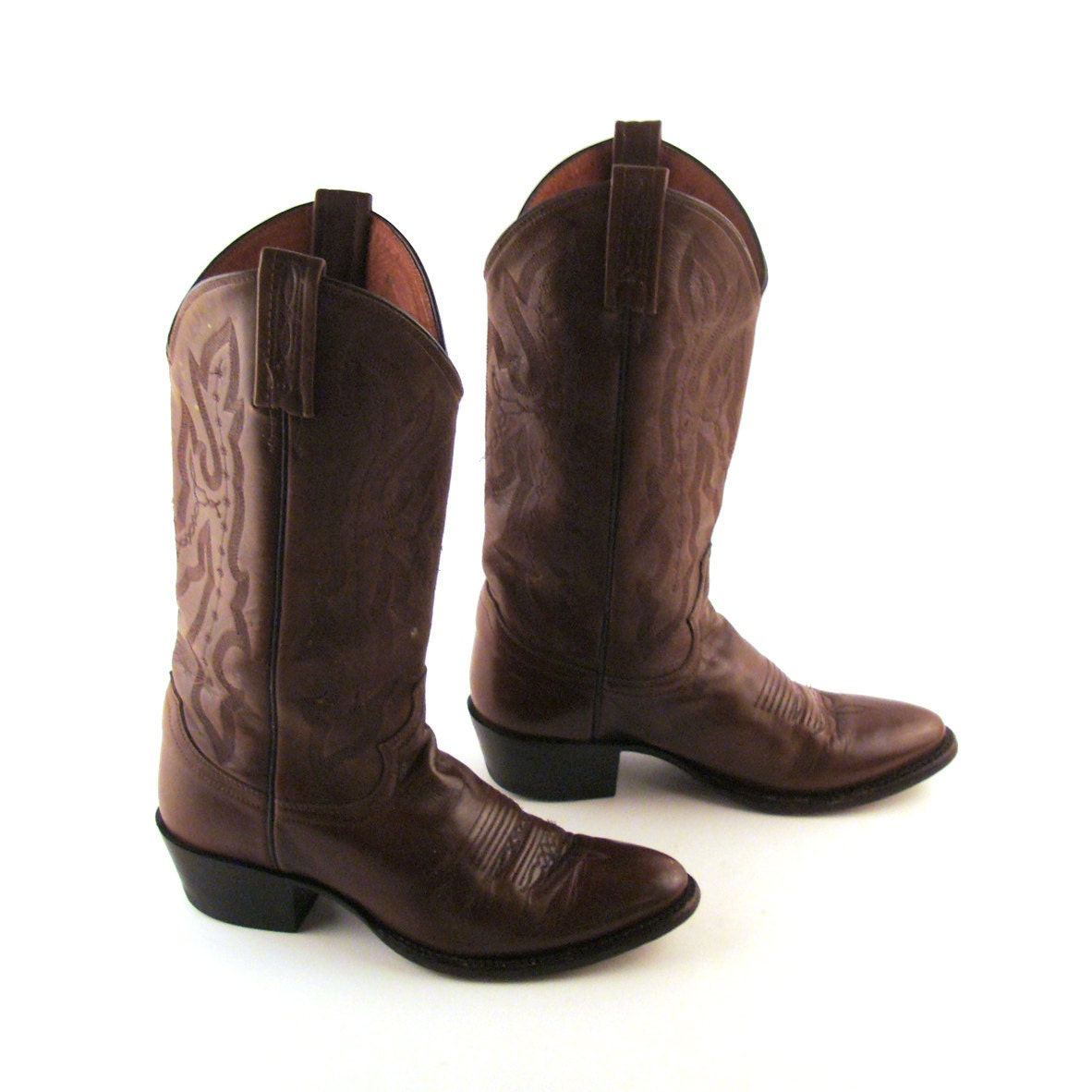 Brown Womens Cowboy Boots
