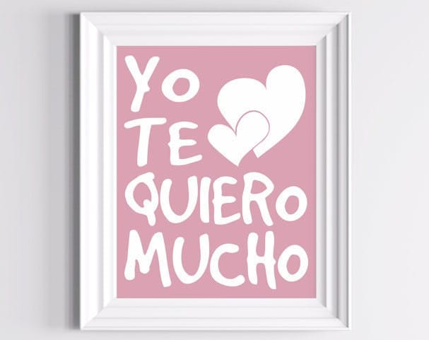 I Love You In Spanish How To Say I Love You ...