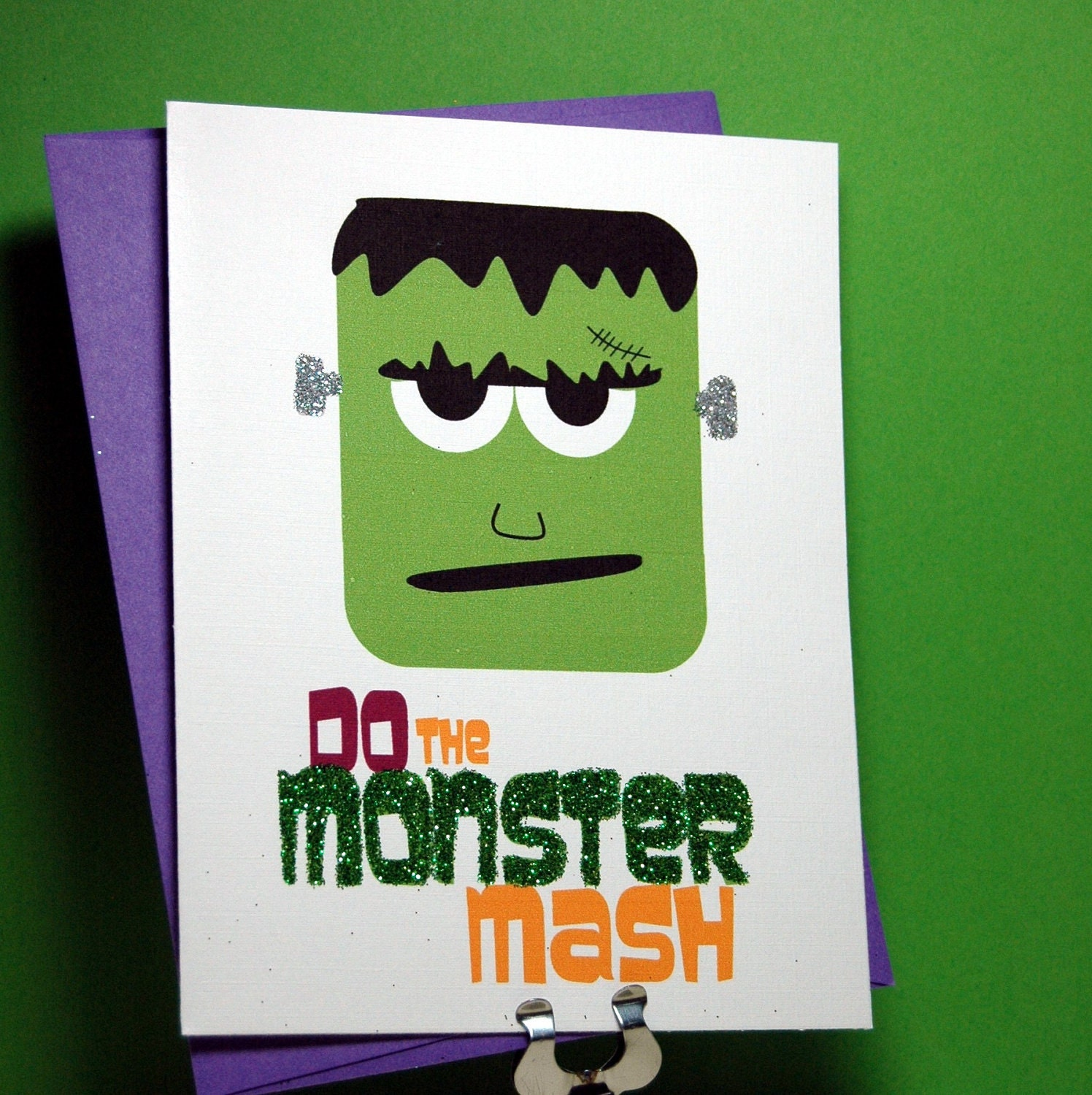 EtsyGreetings Handmade Cards: Do the Monster Mash