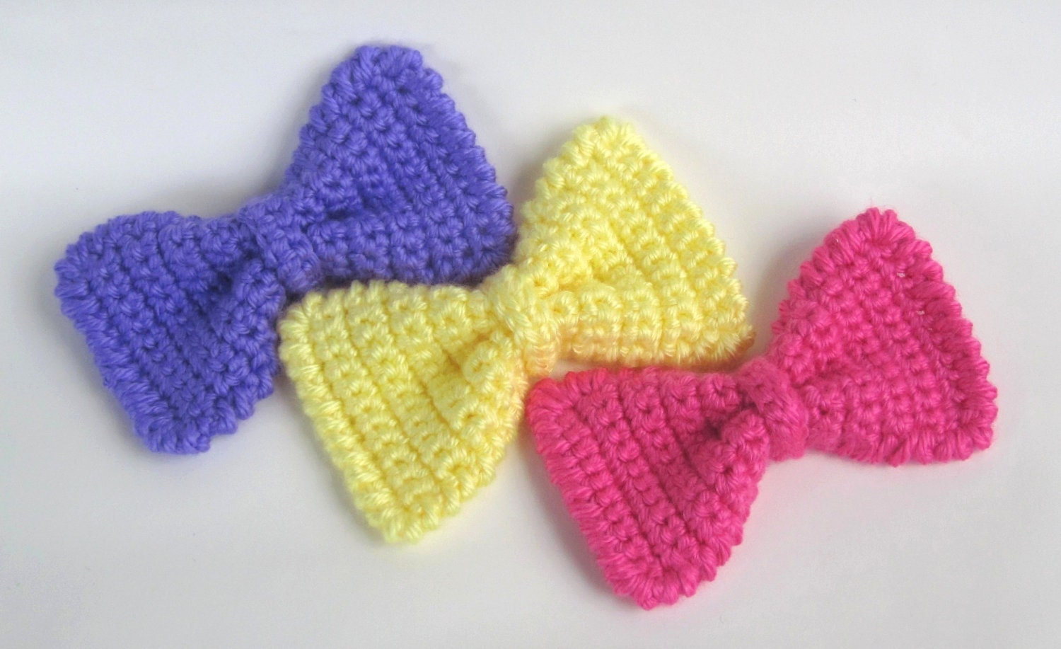 Crochet Pattern Central - Free Hair Accessories Crochet Pattern